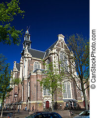 westerkerk - a photo of famous westerkerk in amsterdam