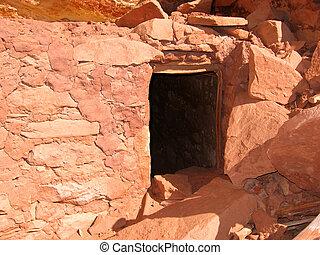 Native American Historic Anasazi Ruin - Historic Anasazi...