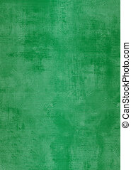 Grunge green plaster wall with stains