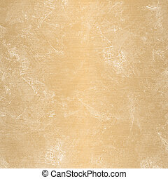 Stained brown plaster wall with rust