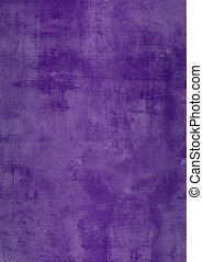 Grunge purple plaster wall with stains