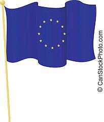 Vector Flag of European Union