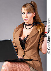 woman at office