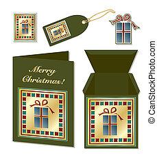 Christmas gift stationer