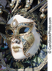 beautiful decorative venetian mask