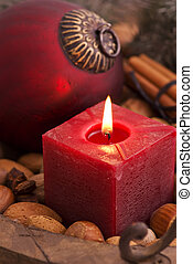 Christmas Decoration with Candlelight