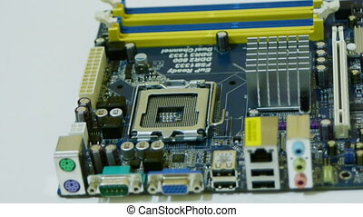 Setting up CPU processor to motherboard