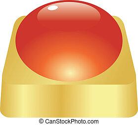 golden button