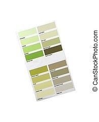 Color Paint Chart