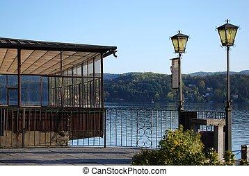 Dock on the lake - Dock on Orta lake, Orta St. Giulio...