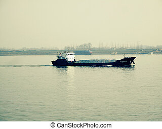 Frachtschiff - china