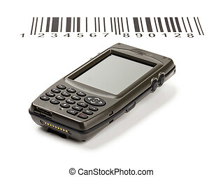 The computer electronic manual scanner of bar codes