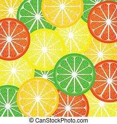 Background a citrus