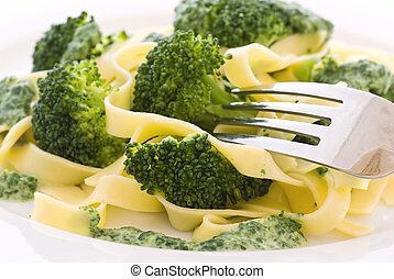 Tagliatelle with Broccoli