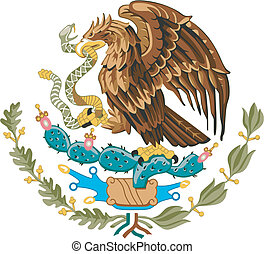 coat of arms of Mexico