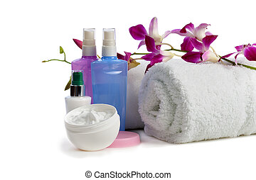 body care items  with jasmine