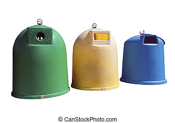 recycle garbage containers