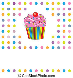 cupcake - Greeting Card cupcake