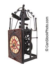 Old Vintage Antique Clock - An old vintage antique clock...