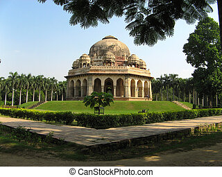 Lodi Garden - Temples in Lodi garden in New Delhi, India