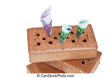 Construction, financing, building society. - Example picture...