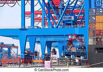 container terminal germany - container terminal in the...