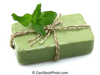 soap with mint