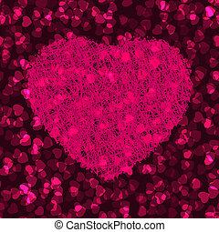 Stylish Valentine\'s Day Card. EPS 8