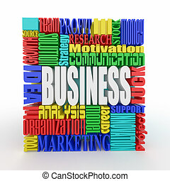 What is a business. Concept.