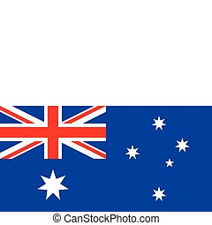 Flag of Australoa - Flag of Australia