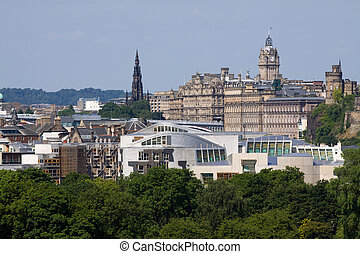Scottish Parliament, Edinburgh City - Scottish Parliament...