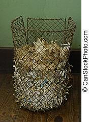 Dustbin - A dustbin