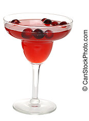 cranberry punch - isolated cranberry punch