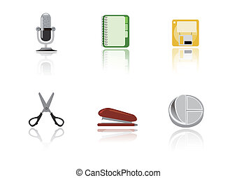 Abstract stationery icon