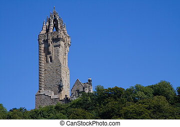 Wallace Monument, Scotland - Wallace Monument, Stirling,...