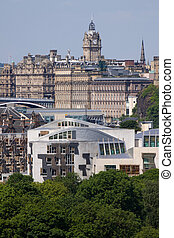 Scottish Parliament and Edinburgh - Scottish Parliament...