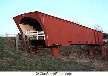 Madison County Iowa - A covered bridge in Iowa.