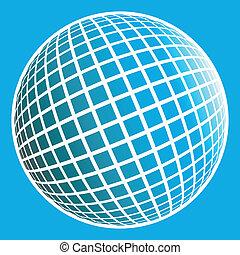 Multicolored globe design - Multicolored globe design mad...