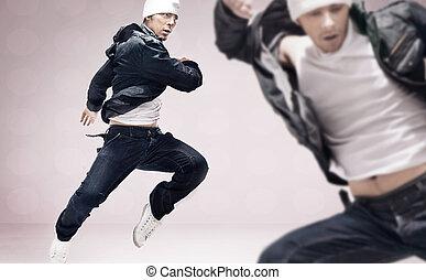 hip-hop, Dançarinos