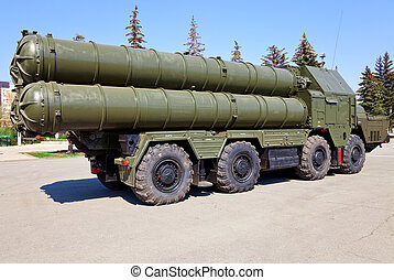 Russian antiaircraft complex S-300