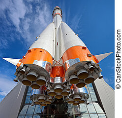 Russian space transport rocket