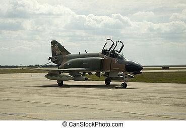 F4D Phantom - Airshow San Antonio, TX Nov. 7, 2009: F4D...