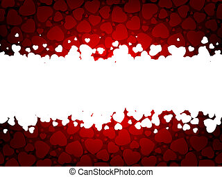 Valentines day background with copy space EPS 8 vector file...