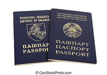 Belorussian passport