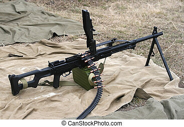 Russian Army machine gun Weapon of infantry