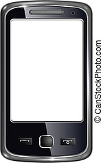 Smart phone - Modern smart phone for mobile communication...