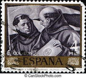 Alonso Cano - St. John Capistrano and St. Bernardin - SPAIN...