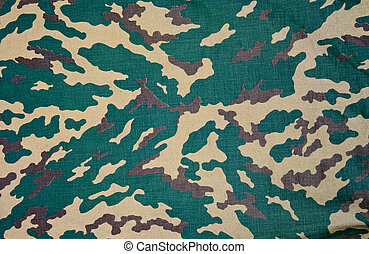 Texture of a camouflage cloth
