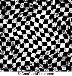 Grunge, tablero de ajedrez, Plano de fondo