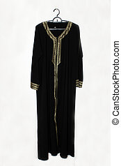 Saudi female abaya - The abaya covers the whole body except...